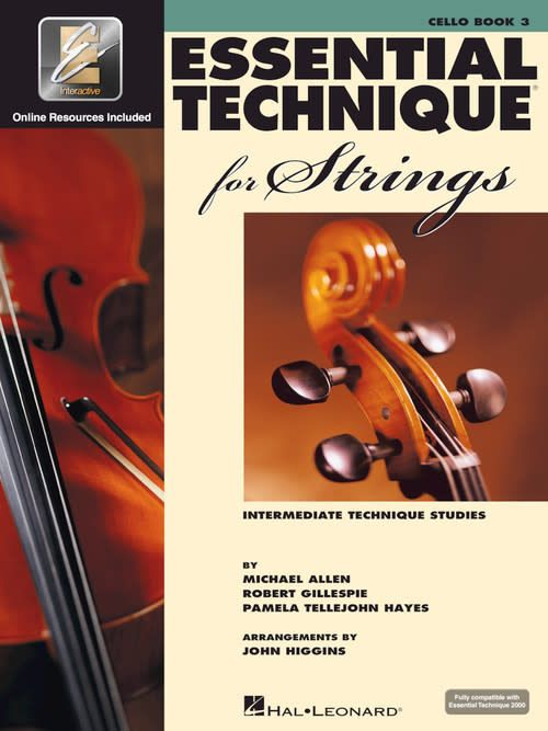 Hal Leonard Essential Technique Cello Book 3