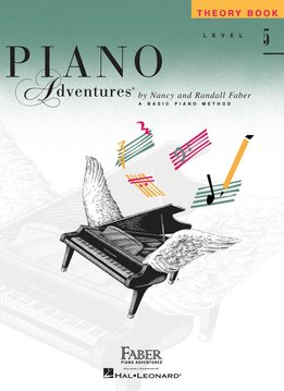 Hal Leonard Piano Adventures Level 5 Theory Book