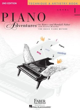 Hal Leonard Piano Adventures Level 1 Technique and Artistry Book