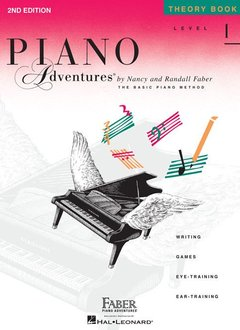Hal Leonard Piano Adventures Level 1 Theory Book