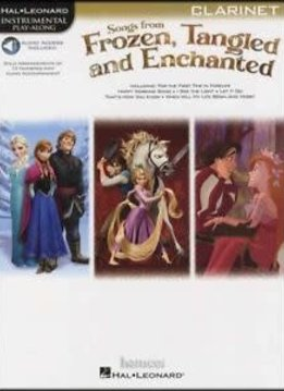 Hal Leonard Songs from Frozen, Tangled, and Enchanted: Clarinet