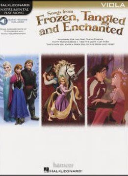 Hal Leonard Songs from Frozen, Tangled, and Enchanted: Viola