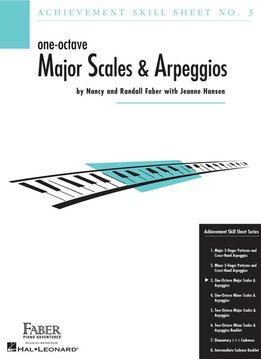Faber Faber One-Octave Major Scales & Arpeggios