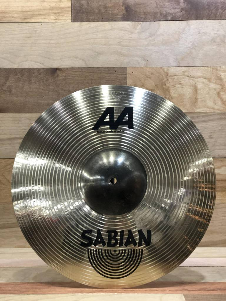 "Sabian Sabian 17"" AA Metal Crash - Mint"