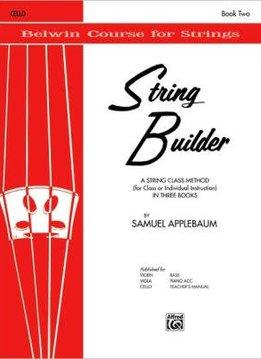 Belwin String Builder Book 2, Cello