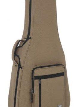 Gator Cases Gator Transit Rigid Dread-style Guitar Bag, Tan Color