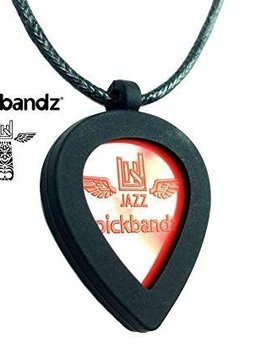 Pickbandz Pickbandz Jazz Pendant w/ Necklace - Black
