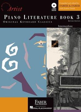 Hal Leonard Faber Piano Literature Book 3- Intermediate
