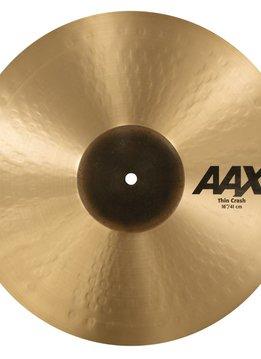 """Sabian Sabian 16"""" AAX Thin Crash"""