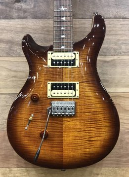 PRS PRS SE Custom 24 Lefty, Tobacco Sunburst