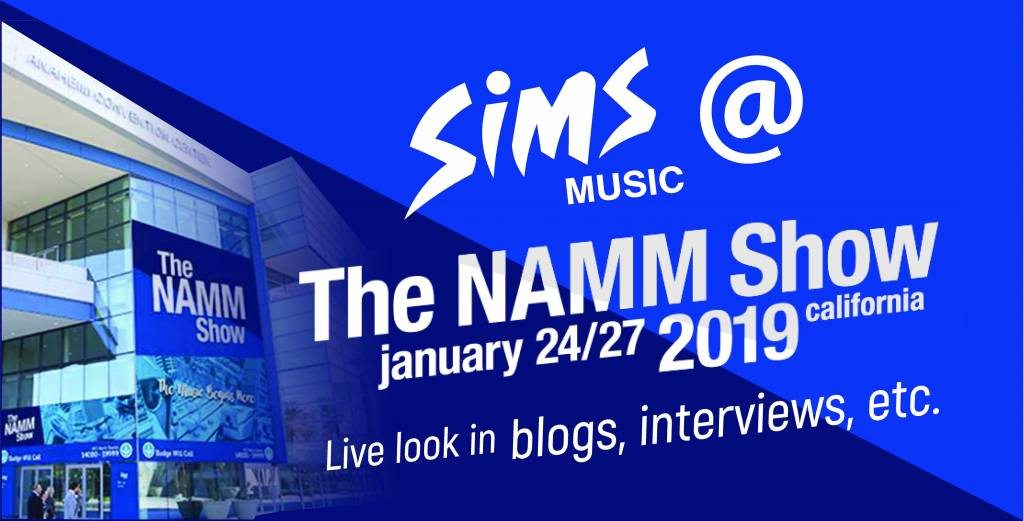 Sims goes to NAMM!