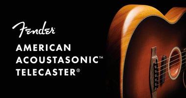 The New Fender American Acoustasonic Telecaster!