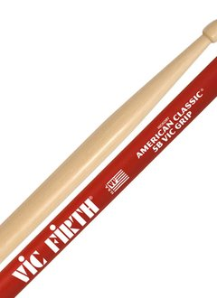 Vic Firth Zildjian American Classic 5B with Vic Grip