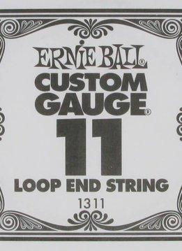 Ernie Ball Ernie Ball .011 Loop End Plain Single