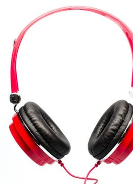 CAD CAD MH100 Closed Back Headphones, Red