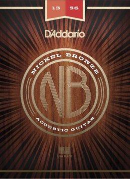 D'Addario D'Addario Nickel Bronze Acoustic - Medium (13-56)