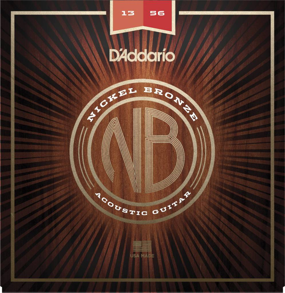 D'Addario D'Addario Nickel Bronze Acoustic - Medium (13-56)