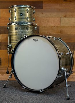 Risen Drums Custom 3 Piece - Reckoning Sparta Sparkle