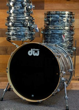 DW DW Collector's Series 5 Piece Shell Pack, Black Oyster