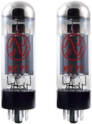 JJ KT77 Power Tubes Matched Pair