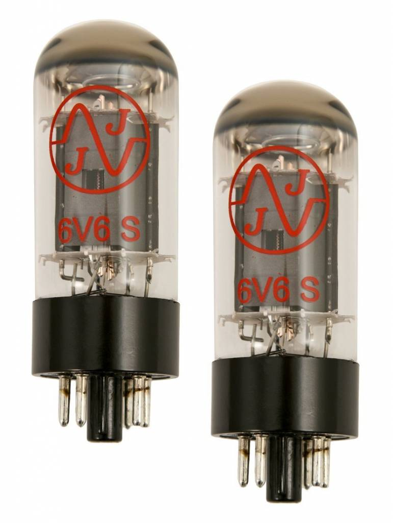 JJ 6V6 Matched Pair Tubes