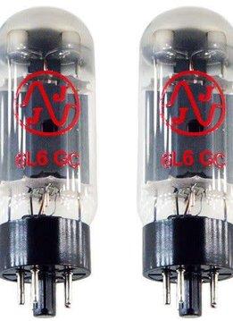 JJ Electronics 6L6GC Matched Pair Tubes