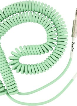 Fender Fender Original Series Coil Cable, Straight-Angle, 30', Surf Green