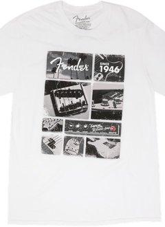 Fender Fender® Vintage Parts T-Shirt, White, Small