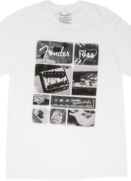 Fender Fender® Vintage Parts T-Shirt, White, Medium