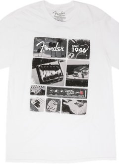 Fender Fender® Vintage Parts T-Shirt, White, XL