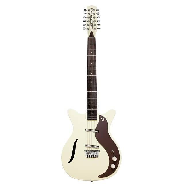Danelectro D59V12, '59 Vintage 12 String, Vintage White