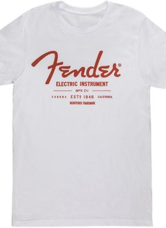 Fender Fender® Electric Instruments Men's T-Shirt, White, XL