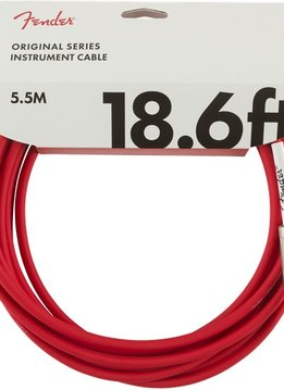 Fender Fender Original Series Instrument Cable, 18.6', Fiesta Red