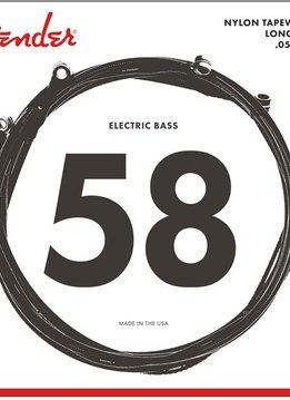 Fender Fender 9120 Bass Strings, Nylon Tapewound, .058-.110 Gauge, (4)