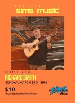 Richard Smith Guitar Clinic Ticket