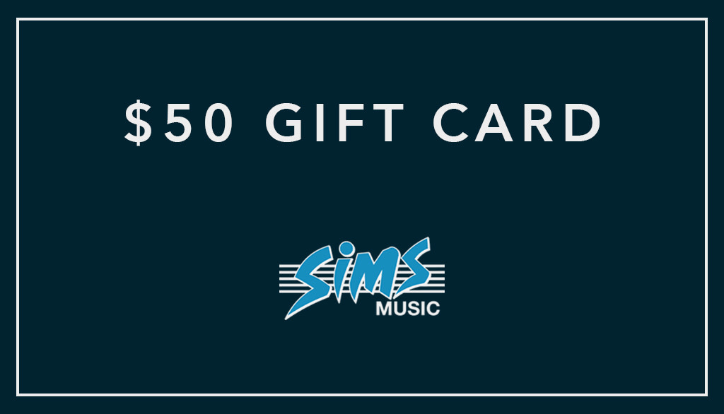 Sims Music Gift Certificate $50