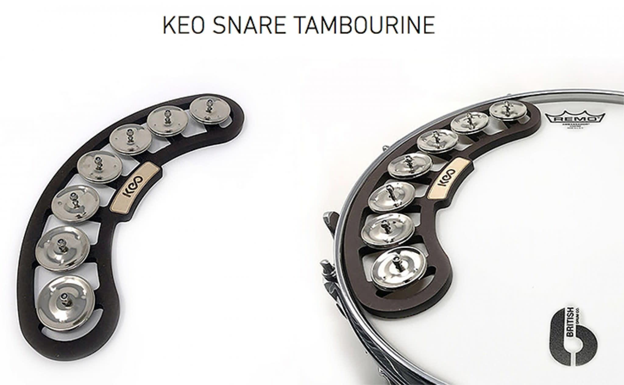 Keo Keo Percussion Snare Tambourine