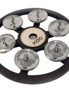 Keo Keo Percussion Cymbal Tambourine