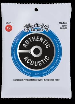 Martin Martin MA140 Authentic 80/20 Acoustic Light Set, 12-54