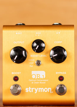 Strymon Strymon OB.1-BASS OB.1 Optical Compressor & Clean Boost with Bass Modification