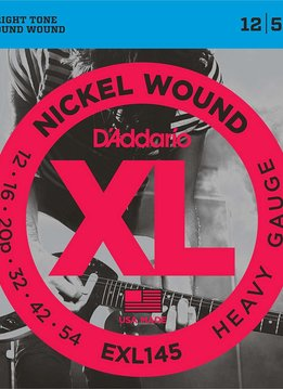 D'Addario D'Addario EXL145 Heavy Gauge Electric, 12-54