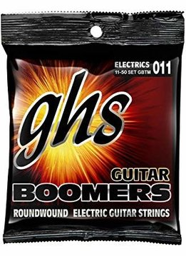 GHS GHS GBM Guitar Boomers Electric String Set, 11-50