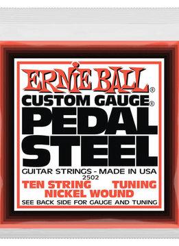 Ernie Ball Ernie Ball 2501 10-String C6 Pedal Steel String Set, Nickel 12-66