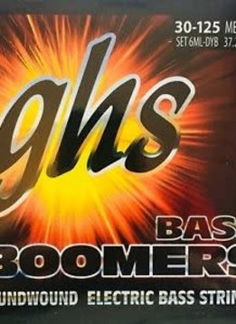 GHS GHS 6MLDYB Bass Boomers 6-String Bass Set, Long Scale 30-125