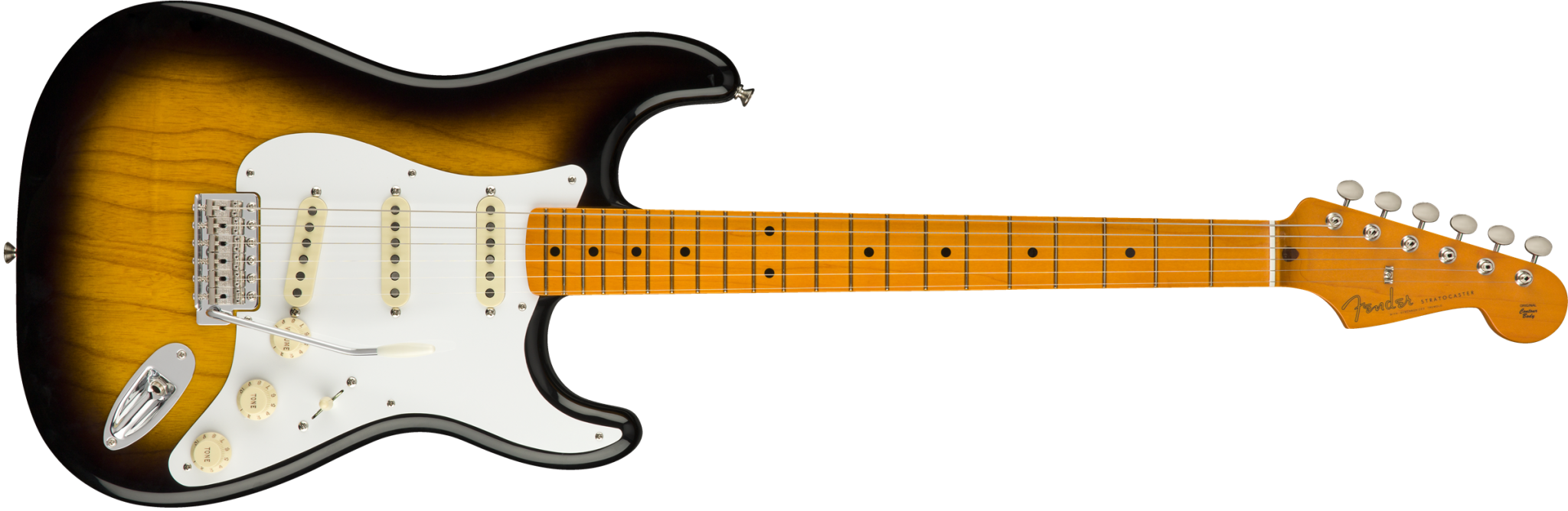 Fender Fender Classic Series '50s Stratocaster®  Lacquer, Maple Fingerboard, 2-Color Sunburst
