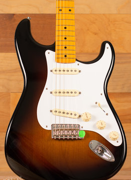 Fender Fender Classic Series '50s Stratocaster®  Lacquer, Maple Fingerboard, 2-Color Sunburst