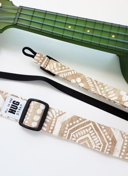 The Hug Strap All in One Hug Strap - White Dots on Beige