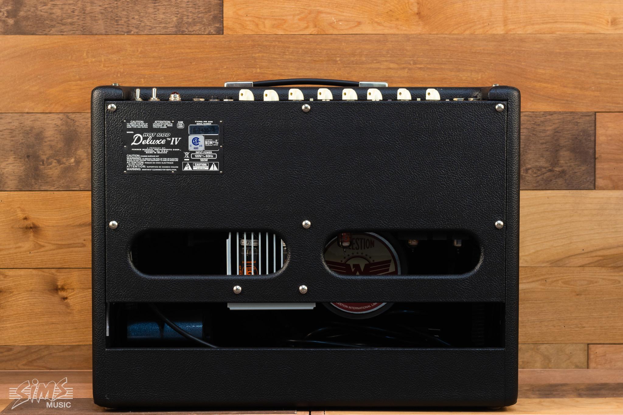 Fender Fender Hot Rod Deluxe™ IV, Black, 120V