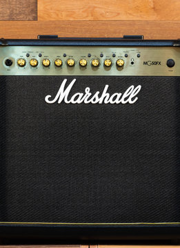 Marshall Marshall MG50GFX 50W 1x12 Combo in Gold w/FX