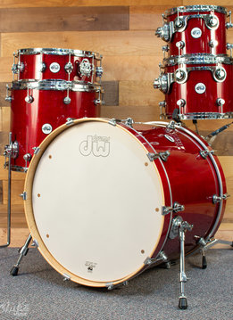 DW DW Design Series 5 Piece Shell Pack - Cherry Stain